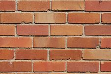Free Reddish, Orange Brick Wall Stock Photos - 13893913
