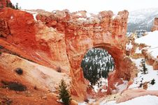 Bryce Canyon Natural Bridge Stock Images