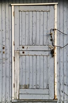 Free Rusted Blue Door Stock Photo - 13894230