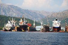 Free Shipyard Stock Images - 13894234