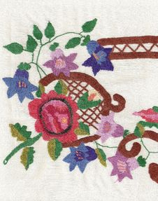 Free National Style Of Embroidery. Stock Images - 13894324