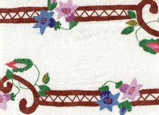 Free National Style Of Embroidery. Stock Images - 13894344
