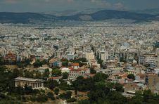Free Athens City View Stock Photo - 13894370