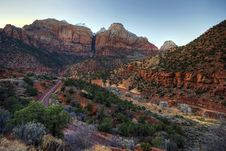 Free Zion National Park Stock Images - 13895344