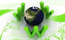 Free Www Around World Stock Image - 13896341