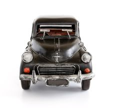 Free Toy Car, Fron View. Stock Images - 13896914