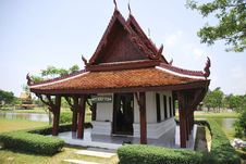 Free Thai Style House Royalty Free Stock Images - 13897059