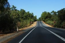 Free Road Passing Through The Bush Stock Photo - 13898710