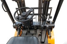 Free Forklift Truck Cab Stock Photo - 13898840