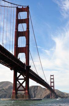 Golden Gate Royalty Free Stock Photo