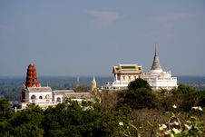 Free View Of Wat Maha Samanaram, Thailand Stock Photo - 13899280