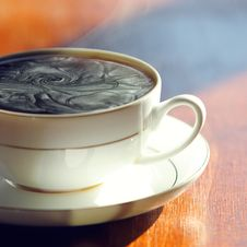 Free Black Coffee. Royalty Free Stock Photography - 13899407