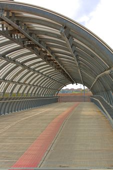Free Pedestrian Tunnel Stock Image - 13899761