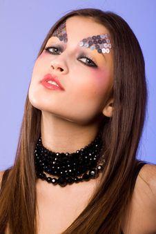 Free Creative Make-up Royalty Free Stock Photo - 13899785