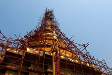 Free Repaired Pagoda Royalty Free Stock Photo - 13899955