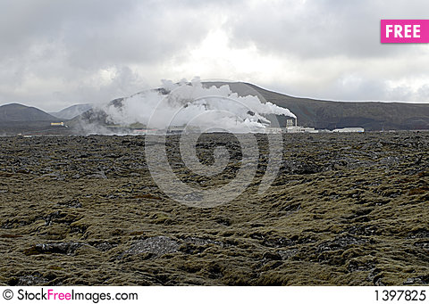 Free Heating Plant In Iceland Royalty Free Stock Photo - 1397825