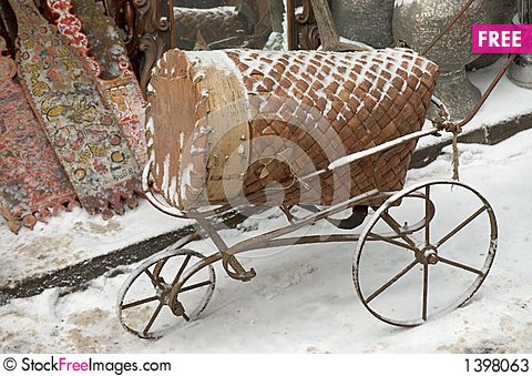 Old carriage Stock Photo