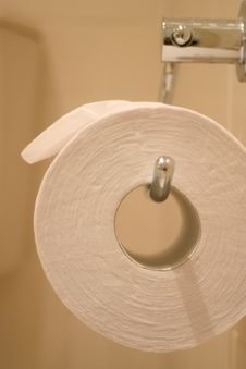 Free Toilet Roll Stock Image - 1391091