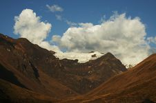 Colorful Cordilleras Landscape Royalty Free Stock Image