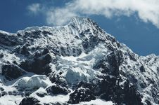 Free High Mountain Cordilleras Royalty Free Stock Photos - 1391558