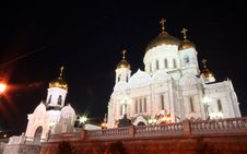 Free Moscow At Night 7 Stock Photos - 1391813