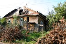 Ruinous Country House 1 Stock Photo