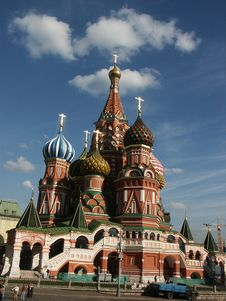 Temple (Moscow) Stock Photos
