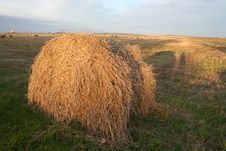 Free Haystack In Russia Stock Photography - 1392722