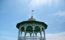 Free Park Gazebo Stock Photography - 1393012