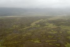 Free Aerial View To Iceland Landscape Stock Photos - 1393313