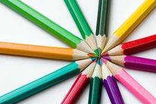 Free Colored Pencils Stock Images - 1393384