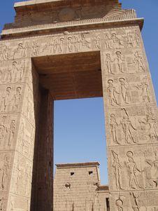 Free Karnak Temple Luxor Egypt Royalty Free Stock Photos - 1393718