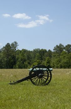 Free Civil War Canon, Chickamauga 3 Stock Photography - 1394002