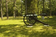 Free Civil War Canon, Chickamauga 6 Royalty Free Stock Photo - 1394045