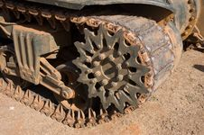 Free Tank Tracks Stock Photography - 1394072