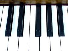 Free Piano Keys Stock Image - 1394851