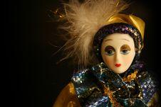 Doll Study 03 Royalty Free Stock Photos