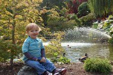 Smiling Toddler Boy Royalty Free Stock Photos