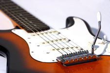 Free Electric Guitar Royalty Free Stock Photo - 1397505