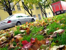 Free Autumn In The City Stock Images - 1397904