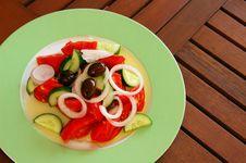 Free Fresh Greek Salad Stock Images - 1398384