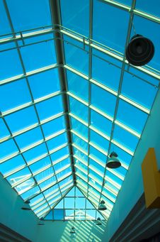 Free Futuristic Complex Ceiling Royalty Free Stock Photos - 1398558