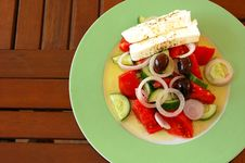 Free Fresh Greek Salad Royalty Free Stock Photography - 1398597