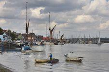 Blackwater Fisherman Stock Images