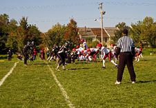 Free Football Game Stock Photo - 1399110