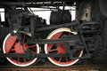 Free Wheels Of The Old Locomotive Royalty Free Stock Image - 13900016