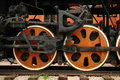 Free Wheels Of The Old Locomotive Stock Photos - 13900033