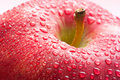 Free Water Drops On Ripe Red Apple Stock Photography - 13901102