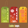 Free Set Of Sale Tags Royalty Free Stock Photo - 13905205