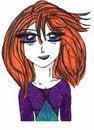 Free Anime Lady Royalty Free Stock Photos - 13906608